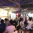 【スポーツ観戦はJenny'sで!】☆2次会にピッタリな飲み放題プランも、各種ご用意しております!大型スクリーンで観戦して全員で盛り上がろう!!