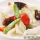 料理メニュー写真イカと季節野菜の炒め