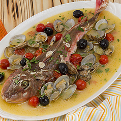 新潟産レンコ鯛のアクアパッツァ