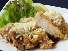 料理メニュー写真特製油淋鶏