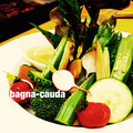 料理メニュー写真契約農園野菜のバーニャカウダ