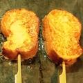 料理メニュー写真鉄板フレンチトースト串