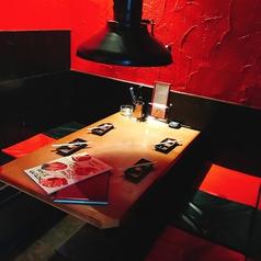 4名用テーブル席