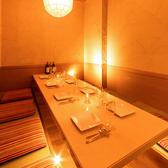 【5~8名様プライベート個室】少人数個室は接待やお仕事帰りの飲み会、女子会にもお勧めです。プライベート空間でごゆっくりご宴会をお楽しみください。