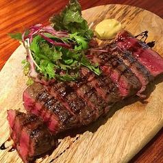 国産牛もも肉のタリアータ