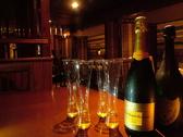 お洒落にシャンパンで乾杯!!