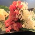 料理メニュー写真★なだれ?ねぎタクまぐろ寿司