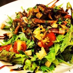 料理メニュー写真温かい木の子のサラダ