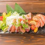 プリッとした鮮度の高い魚介のみを使用し、新鮮だからこそ感じる魚の甘みを堪能できます。