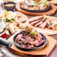 宴会にピッタリなお肉料理をはじめとした豪華な料理と飲み放題付プランは4000円~ご用意しております◎当店の料理をお得にご堪能いただけるプランとなっておlりますので飲み会,宴会の際はぜひご利用ください!