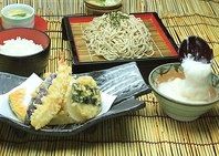 天ぷらが魅力