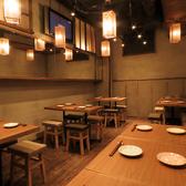 【テーブル席:4席×3】各種ご宴会に最適なコースもご用意しております。ぜひご利用ください!
