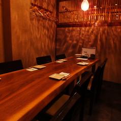 【1階】テーブル個室を完備!お履き物を脱がなくても、ご利用頂けます!一つの為、お早目のご予約をおすすめいたします!