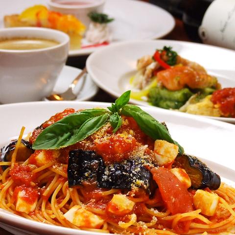 麺と素材へのこだわりを大切に、本格イタリアパスタ料理の数々を紹介!