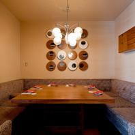 VIP個室と夜景空間