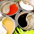 料理メニュー写真追加2層鍋もご用意しております 1人前