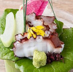 明石蛸のお刺身