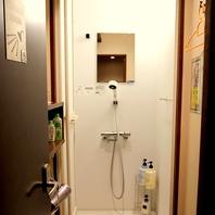 終電逃しても大丈夫!24時間シャワー完備
