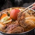 料理メニュー写真【神田川俊郎監修】 トマト牛すき焼き鍋