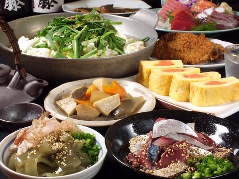 【ちょっとした集まりに】◆魚・肉料理など◆全8品2000円コース