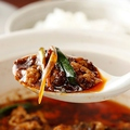 料理メニュー写真おぼろ豆腐の四川風'激辛'麻婆豆腐 土鍋仕立て