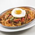 料理メニュー写真炒めスパゲッティー「ナポリタン」