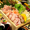 ■名古屋コーチン尽くしプラン銀コース■全8品3時間飲み放題付き 3500円