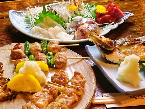 地元の新鮮な魚、野菜を使ったメニューと、おかみさん考案の酢みそが大人気のお店。