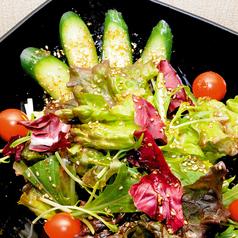 料理メニュー写真韓流サラダ