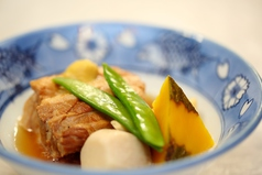 とろける味わい 県産豚角煮