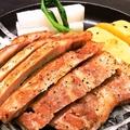 料理メニュー写真米沢豚ロースステーキ(150g)