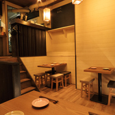 【テーブル席:4席×1】アットホームな店内は居心地抜群!ご宴会も盛り上がることまちがいなしです!