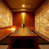 掘りごたつ式の和風個室は全20室!
