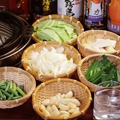 料理メニュー写真野菜焼き各種