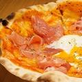 料理メニュー写真生ハムと半熟卵