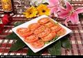 料理メニュー写真トマトサラダ/ピータン豆腐サラダ/チャーシューと葱和え