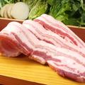 料理メニュー写真白サムギョブサル(1人前)鹿児島産「茶美豚」のサムギョプサル