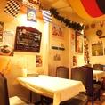 店名はピラミッド、お料理はドイツ。不思議な雰囲気…