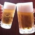 生ビールが美味しいです♪店内にはお好きに選んで頂ける、飲み放題ブースあり!焼酎の銘柄も豊富です。贅沢すぎる飲み放題メニューはドリンクメニューをぜひご覧ください。