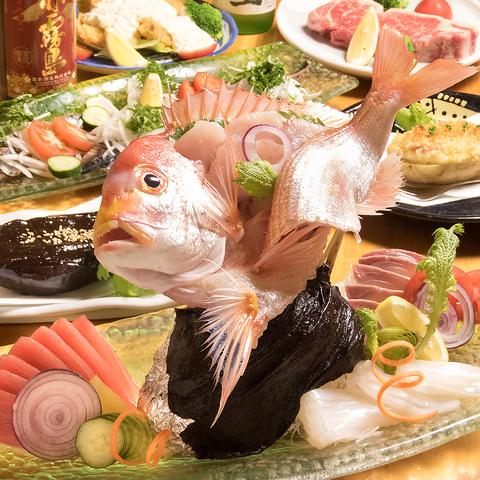 厳選された鮮度の良い魚介類と本格江戸前寿司がお手頃価格で味わえるお店