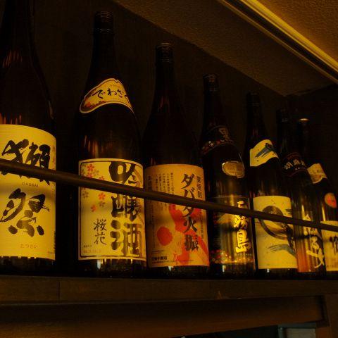 ウイスキー、焼酎、日本酒、カクテル、ビールなど宴会やるなら欲しいお酒はほとんど揃えております♪