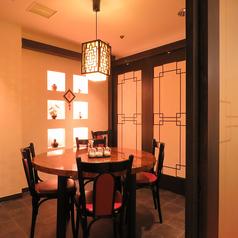 1部屋2~6名まで対応の個室が嬉しい♪周りを気にせずワイワイ楽しめます。(全2部屋)