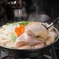 料理メニュー写真【神田川俊郎監修】 半身鶏のあったか生姜鍋