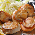 料理メニュー写真ホタテ貝バター焼き