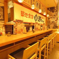 築地食堂 源ちゃん 新横浜店の雰囲気3
