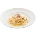 料理メニュー写真半熟卵のカルボナーラ