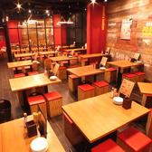 ◆焼き鳥居酒屋「鶏あえず」は貸切宴会・パーティーのご利用も大歓迎!最大70名様までご対応可能です。店内は活気のある広々としたお洒落空間。お席のレイアウトやご予算等ご相談承りますのでお気軽にお問合せください!幅広いシチュエーションにご利用いただけます。