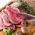 極上・赤身肉をじっくりゆっくり ローストし、塊肉のまま、焼き上げる極上逸品。
