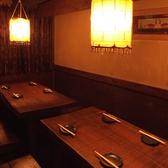 2~4名のテーブル席2つ