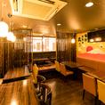 ■貸切宴会■新宿駅西口から徒歩1分と大変駅チカな居酒屋です!新宿での最大110名様での新宿での貸切宴会も承っております。新宿随一のお得な飲み放題付コースがお楽しみいただける居酒屋です!